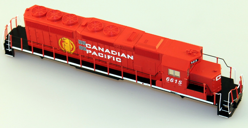 Body Shell - Canadian Pacific #6601 (HO SD40-2)