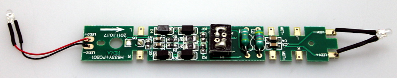 PCB w/ 8 Pin Plug (HO SD40-2/GP38-2)