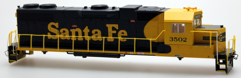Body Shell - Santa Fe #3502 (HO GP38-2)