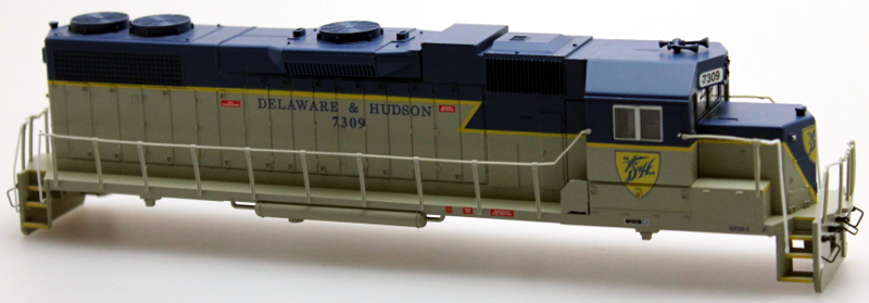 Body Shell - Delaware & Hudson #7309 (HO GP38-2)