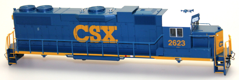 Body Shell - CSX #2623 (HO GP38-2)