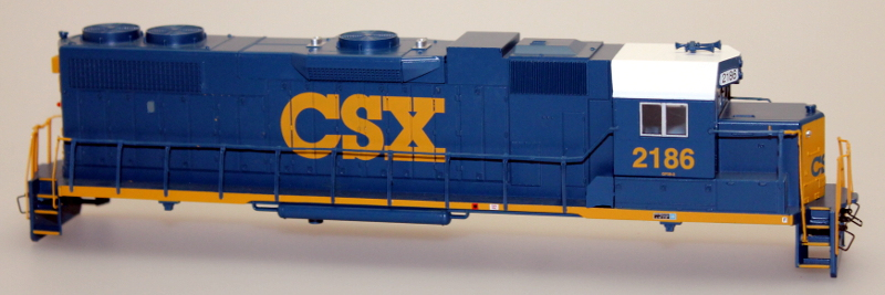 Body Shell - CSX #2186 (Dark Future) (HO GP38-2)