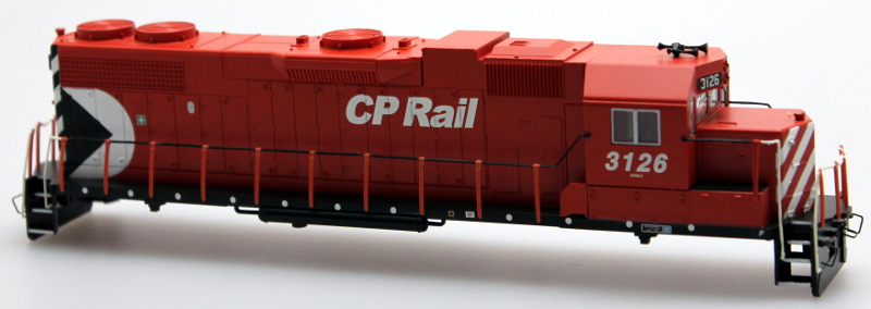 Body Shell - CP Rail #3126 (HO GP38-2)