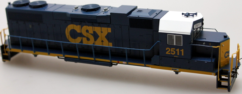 Body Shell - CSX #2511-Dark Future (HO GP-38-2)