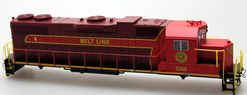 Body Shell - Belt Line #5260 (HO GP38-2)