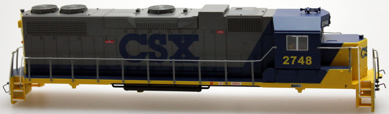 Body Shell - CSX #2748 (Bright Future) (HO GP38-2)