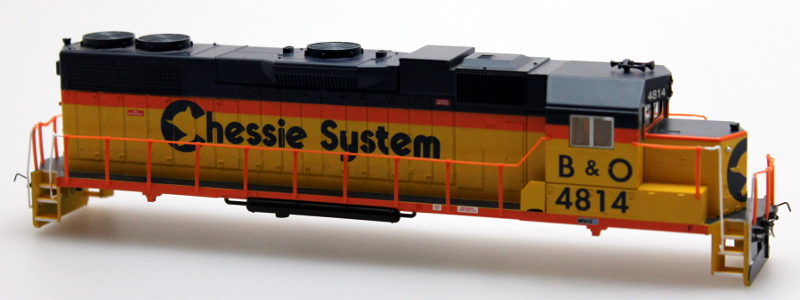 Body Shell - Chessie System B&O #4814 (HO GP38-2)