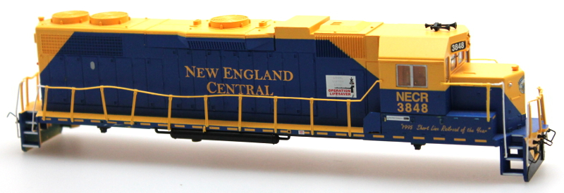 Body Shell - New England Central #3848 (HO GP38-2)