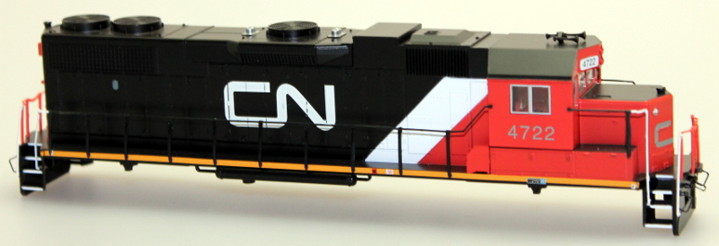 Body Shell - Canadian National #4722 (HO GP38-2)