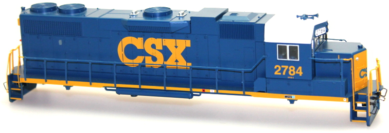 Body Shell - CSX #2784 (HO GP38-2)