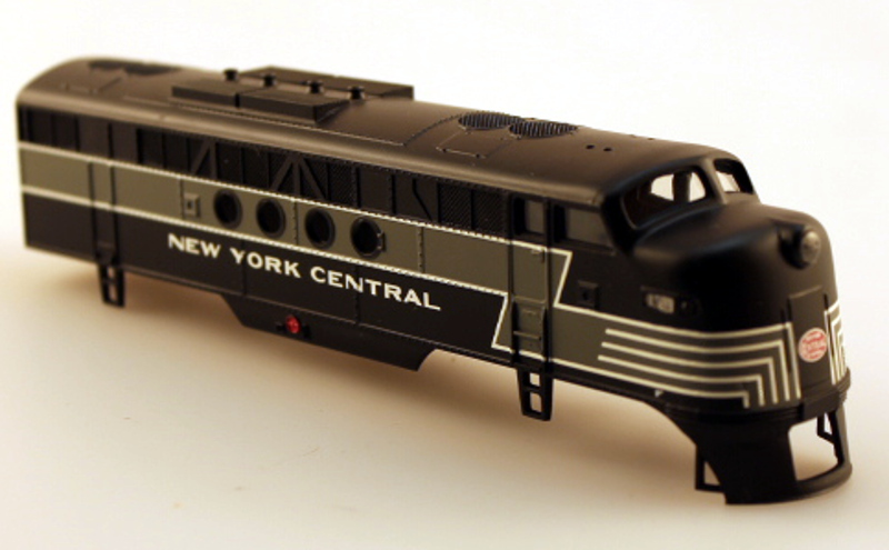 Body Shell - New York Central (HO: FT-A)