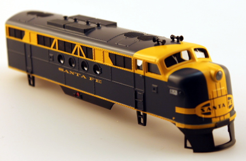 Body Shell - Santa Fe (Blue&Yellow)(HO: FT-A)
