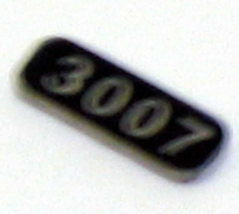 Number Board (HO GP 30)