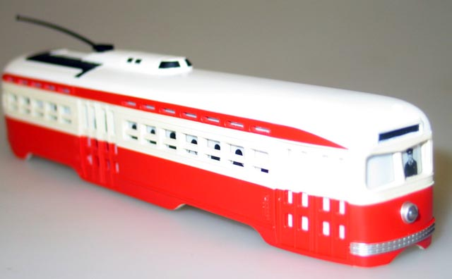 Body Shell - St. Louis Railways (PCC Trolley)(HO Scale)