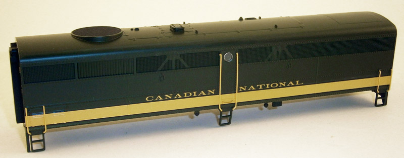 BODY SHELL CANDIAN NATIONAL (FB-2)(HO)