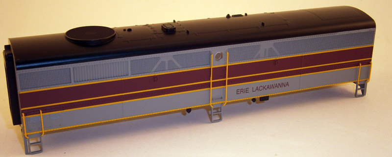 BODY SHELL ERIE & LACKAWANNA(FB-2)(HO)