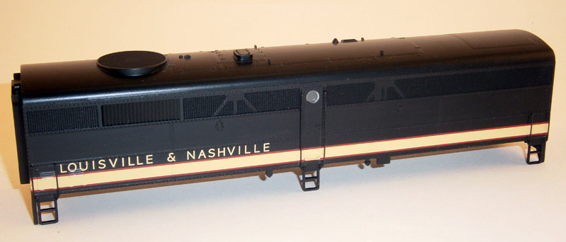 BODY SHELL LOUISVILLE & NASHVILLE(FB-2)(HO)