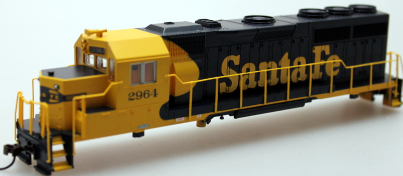 Shell - Sante Fe #3508, Blue & Yellow (HO GP40)