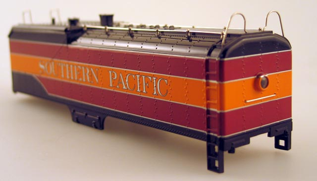 Tender Shell - Southern Pacific Red&Orange (HO GS4 4-8-4)
