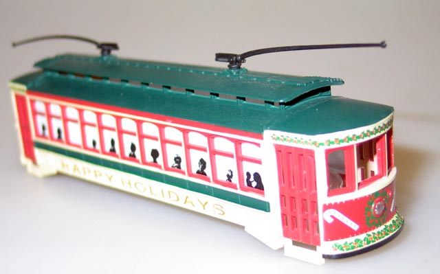 Body Shell- Christmas (HO Brill Trolley)