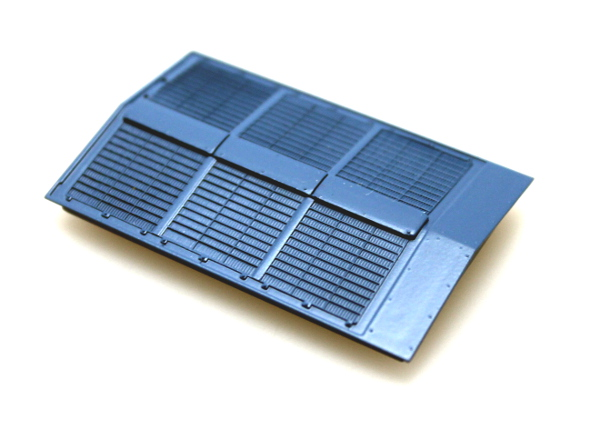Roof Vent - Blue (HO Dash 8-40CW)