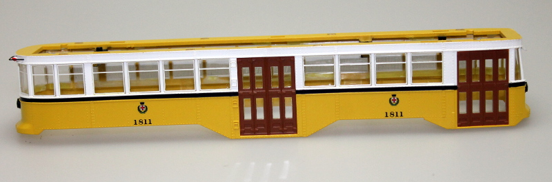 Body Shell - San Francisco (HO Peter Witt Streetcar)