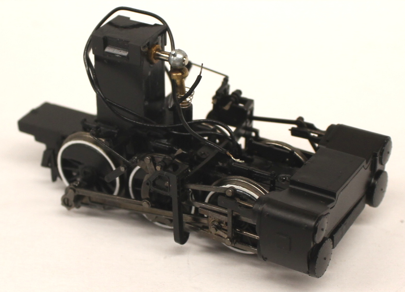 Rear Truck - White Rim (2-6-6-2) (HO Scale)