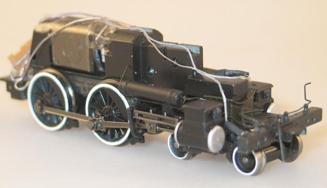 Loco Chassis - Complete (HO 4-4-0 Richmond)