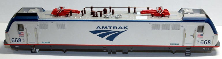 Shell-Amtrak #668 ( HO ACS-64 )