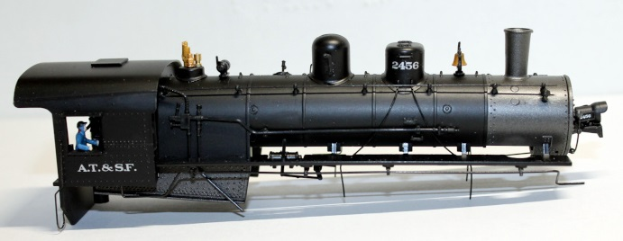 Body shell-AT&SF # 2456 ( HO 2-10-0 )
