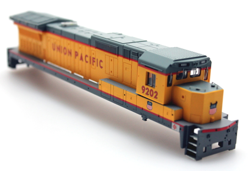 Shell - Union Pacific #9202 (HO Dash 8-40C - Spectrum®)