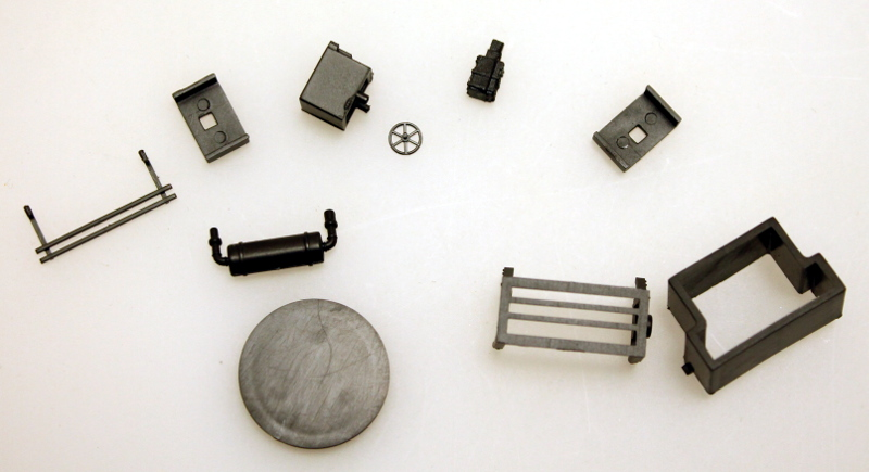 Chassis accessory kit ( HO Peter Witt )