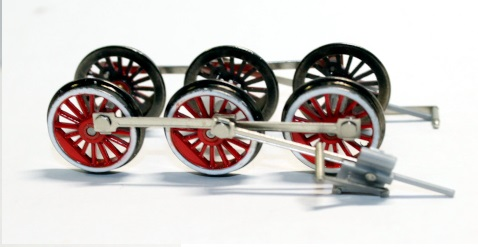 Drive Wheels ( HO Scale Rosie Red )