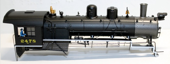 body Shell- Erie #2478 ( HO 2-10-0 )