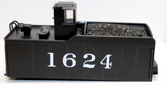 Tender Shell- Frisco #1624 ( HO 2-10-0 )