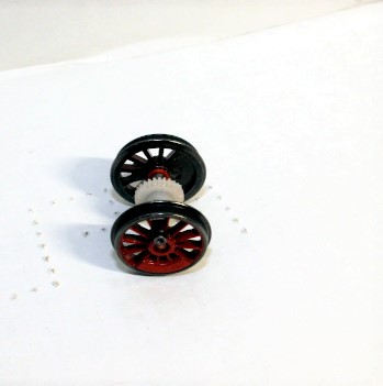 Geared Wheel ( HO 4-4-0 DCC ready and SV )