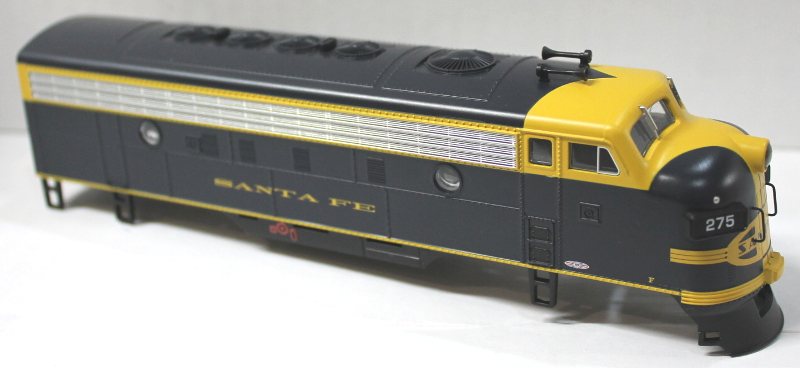 Body Shell - Santa Fe, Blue & Yellow (HO F7-A)