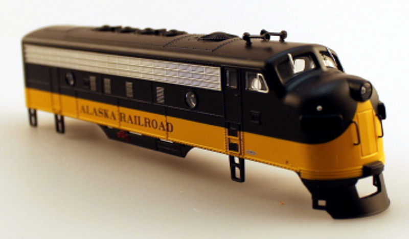 Body Shell - Alaska Railroad (HO F7-A)