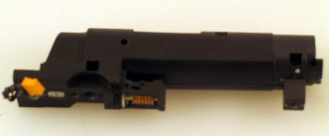 Chassis w/Motor & Light - Black (HO 2-8-0)