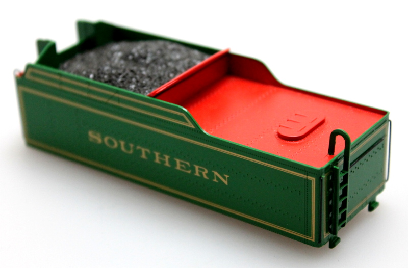 Tender Shell - Southern Green #722 (HO 2-8-0)