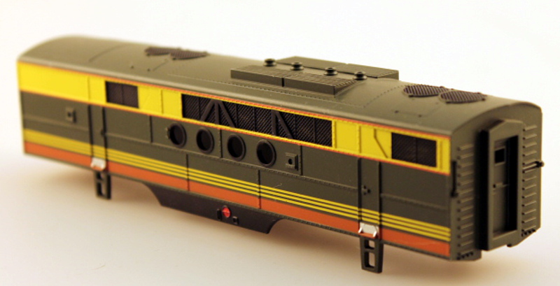 Body Shell - Seaboard (HO: FT-B)