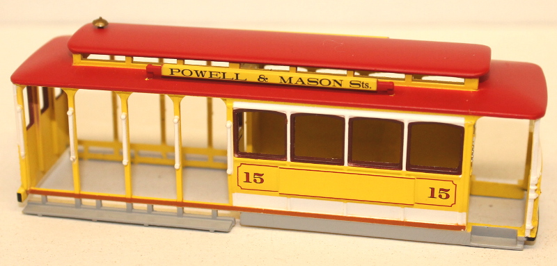 Shell - Yellow & Red (HO Cable Car)