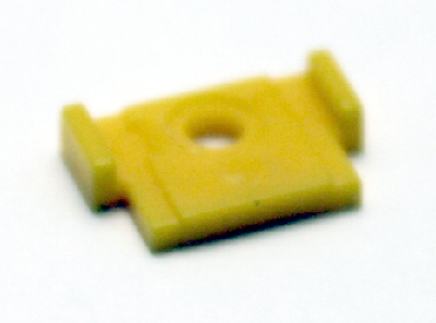 Cover Coupler - Yellow (HO SD40-2)