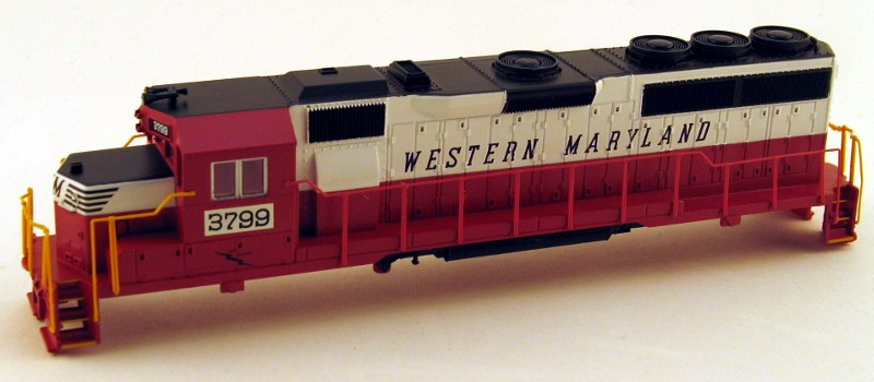 Shell - Western Maryland #3796 (HO GP40)