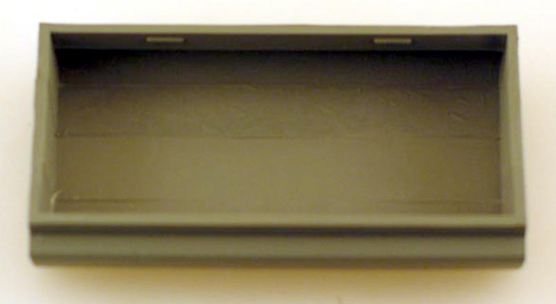 Fuel Tank - Black (HO GP40)