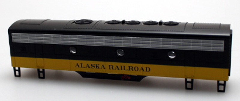 Body Shell - Alaska Railroad (HO: F7-B)