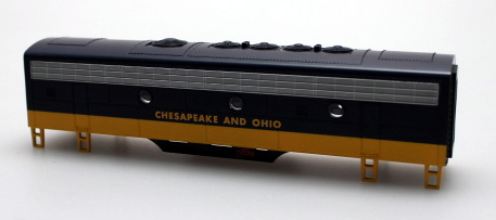 Body Shell - Chesapeake & Ohio (HO: F7-B)