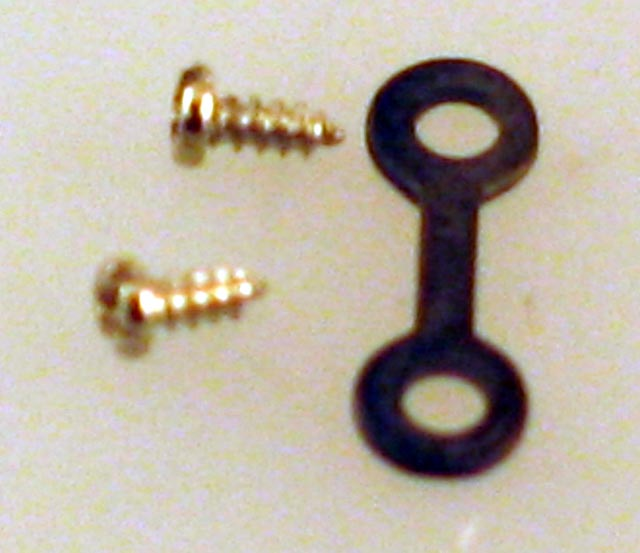 Drawbar w/Screws (HO DeWitt Clinton)