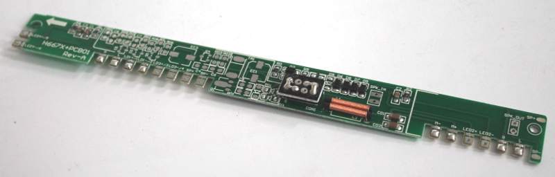 PCB w/8 Pin Socket (HO E7-A)