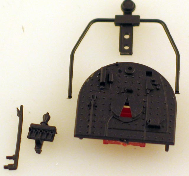 Boiler Rear Cover (HO 80 Ton 3 Truck Shay)